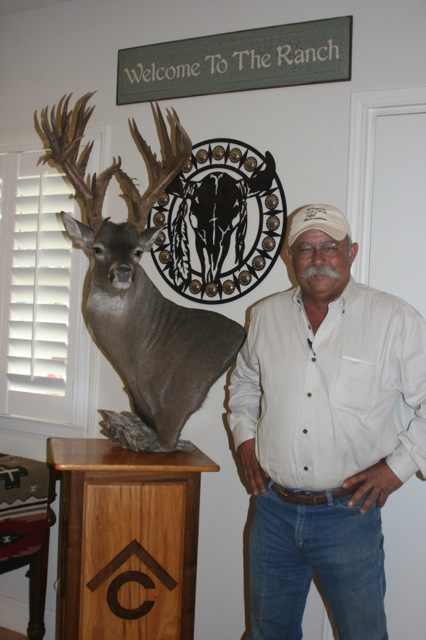 Johnny Burris with buck